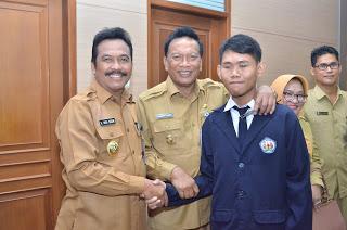 Muhdi Abdilah, Siswa Disabilitas Gresik Wakili Jatim di Jakarta