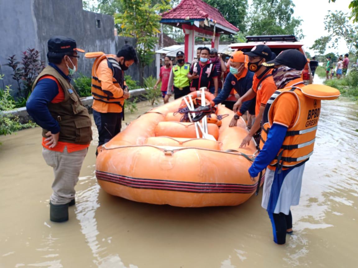 Korban Banjir Seorang Kakek Asal Dungus Cerme Meninggal Dunia