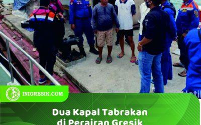 Dua Kapal Tabrakan di Perairan Gresik, 5 ABK Dilaporkan Hilang