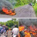 Baru Beli Dua Bulan Motor Scoopy Terbakar