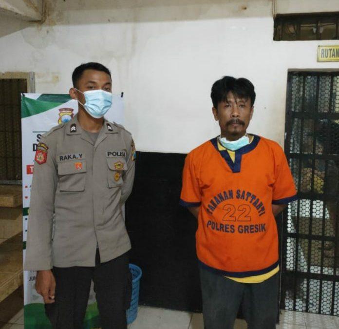 Sopir Dump Truk Pengedar Sabu Tertangkap di Exit Tol Gresik