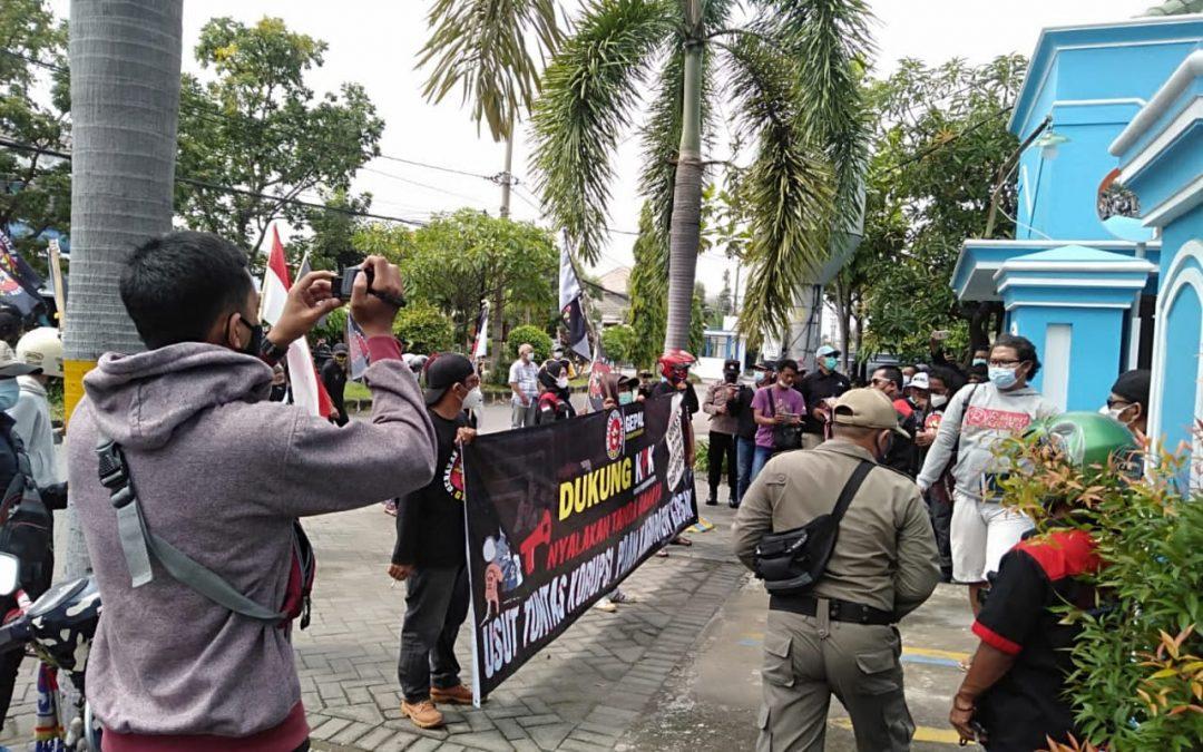 Gepal Demo Perumda Usut Tuntas Korupsi