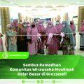 Sambut Ramadhan, Komunitas Wirausaha Muslimah Gelar Bazar