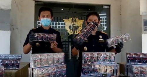 Penyelundupan Rokok Ilegal di Gresik Berhasil Digagalkan Bea Cukai