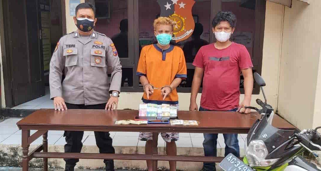 Tampil Kece Hasil Pencurian, Pemuda Ini Diringkus Polisi