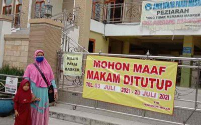 PPKM Darurat Forkopimda Gencar Operasi Gresik Jaman Now, Wisata Religi Tutup