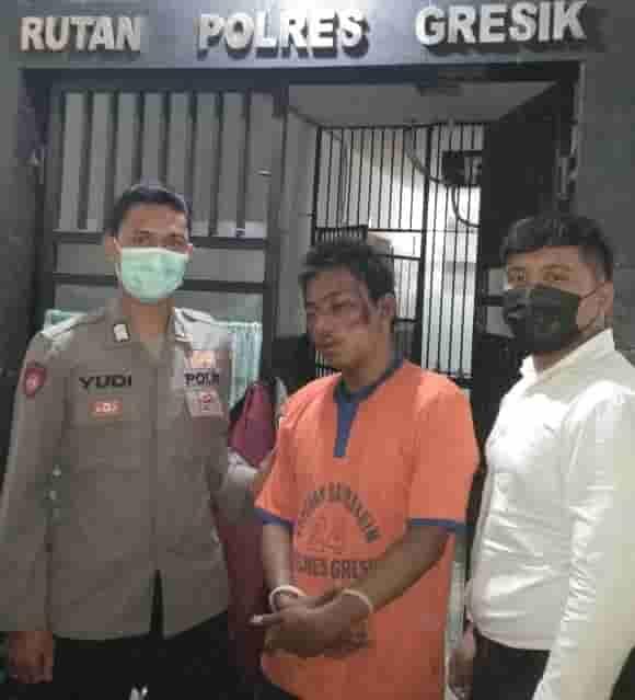 Curi Sepeda Motor, Pemuda ini Dikejar Warga dan Ditangkap Polisi
