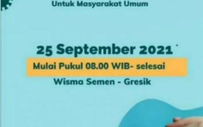 Jadwal dan Tempat Vaksinasi Masal PT Olam Indonesia 25 September