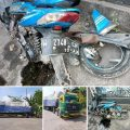 Kecelakaan di Dekat Proyek Pengecoran Boboh, Libatkan Sepeda dan Truk
