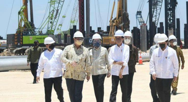 Smelter di Gresik Diresmikan Presiden Jokowi, Akan Menyerap 40 Ribu Tenaga Kerja